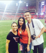 Media with Jen Welter of the Arizona Cardinals